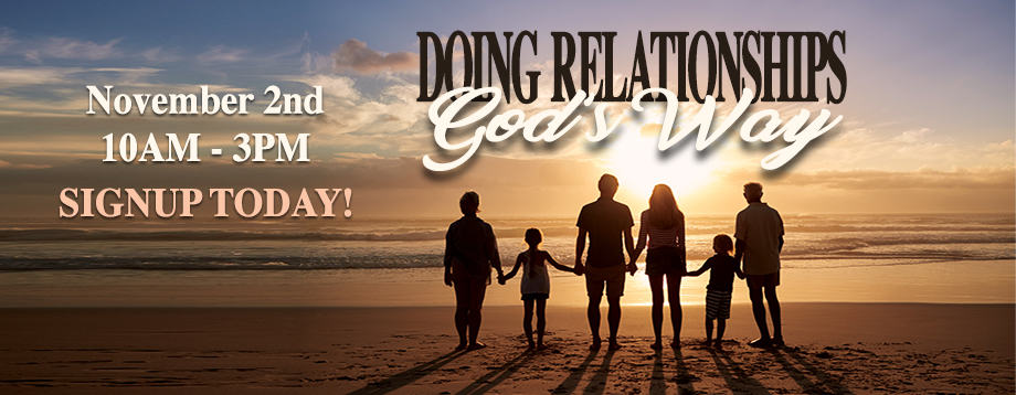 Doing Relationships God's Way Conference